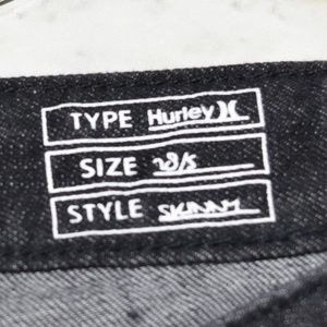 Hurley Jeans - Distressed HURLEY Black Skinny Jeans
